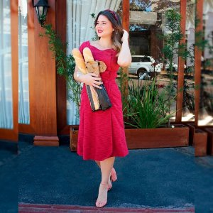Vestido Clássico Ref. : 108345
