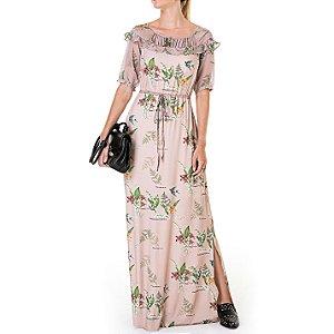 Vestido Longo Estampado Aurora - Ref. 101857