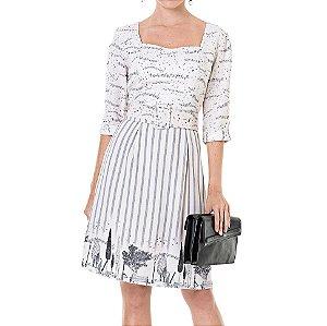 Vestido Secretário Paisagem Luisa - Ref.:106460