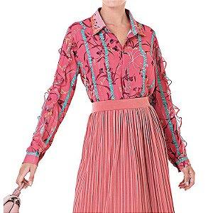 Camisa Estampada Sophia - Ref.:122611
