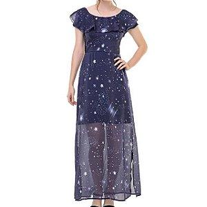 Vestido Longo Galáxia - Ref.:101133