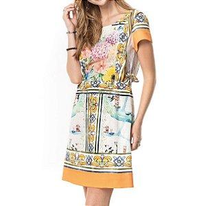 Vestido Secretário Viagem À Veneza - Ref.:101532