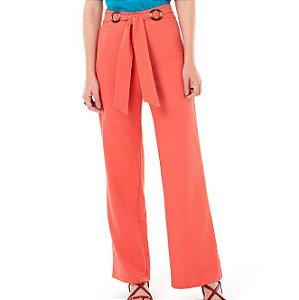 Calça Pantalona Fivelas Solar - Ref.:033740