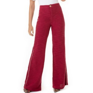 Calça Pantalona Tweed Liz - Ref.:036820