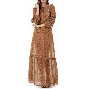 Vestido Estampado Anna - Ref.:105547