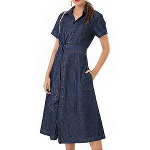 Vestido Chemise Jeans Liz - Ref.:106823
