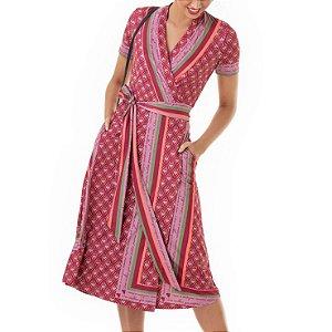 Vestido Transpassado Liz - Ref.:106827