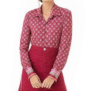 Camisa Corações Liz - Ref.:126822