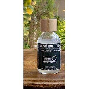 Desodorante Natural Roll On Louro, Lavanda e Melaleuca uNeVie 50ml