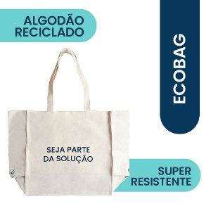 Ecobag Algodão Reciclado Positiv.a