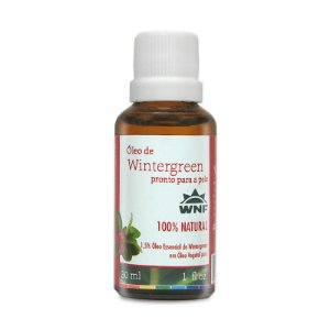 Óleo Essencial Wintergreen Pronto Para Pele WNF 30ml
