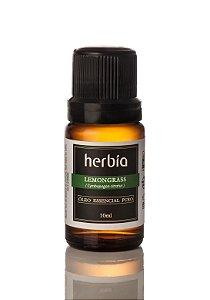 Óleo Essencial Orgânico Lemongrass Certificado IBD Herbia 10ml