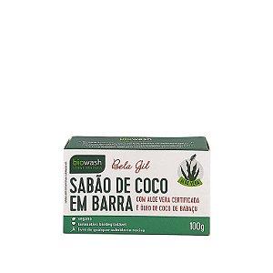 Sabão de Coco em Barra Bela Gil Biowash 100gr