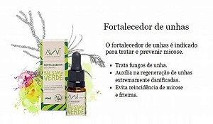 Bálsamo Verde Fortalecedor de Unhas Awi 10ml