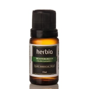 Óleo Essencial Wintergreen Certificado IBD Herbia 10ml