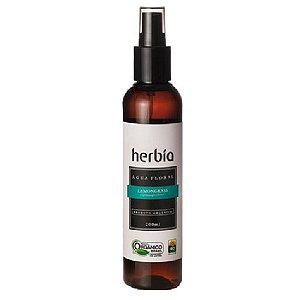 Água Floral Orgânica de Lemongrass Certificado IBD Herbia 200ml
