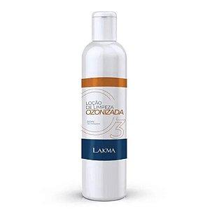 Loção de Limpeza Ozonizada Premium 200ml Lakma