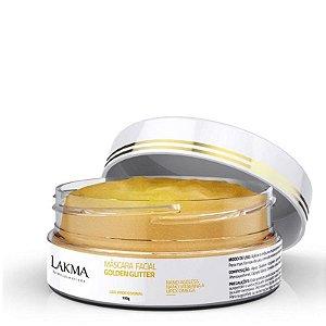 Máscara Facial Ouro Golden Glitter Lakma 150g