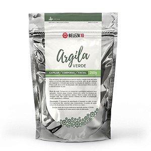 Argila Verde Beleza10 Peles Oleosas e Acneicas 250g