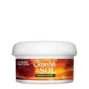 Parafina Ativadora Cenoura e Sol 260g D´agua Natural