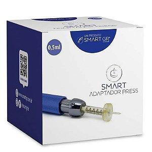 Adaptador Descartável para Pressurizada Smart Press 0,5mL 10 unidades Smart GR