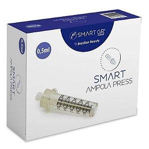 Ampola Descartável para Pressurizada Smart Press 0,5ml 10 unidades Smart GR