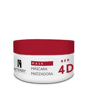 Máscara Matizadora Red 4D 250g Intensy