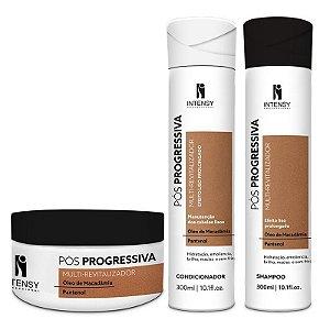 Kit Revitalizante Máscara + Condicionador e Shampoo Intensy