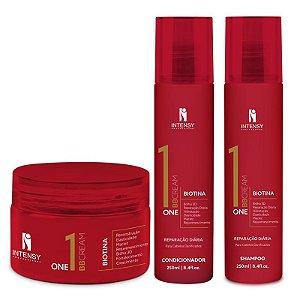 Kit One BB Cream Máscara + Condicionador e Shampoo Intensy