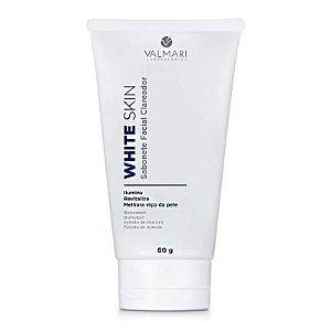 Sabonete Clareador Facial White Skin 60g Valmari