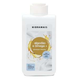 Loção Hidratante Algodão e Ômega + 500ml Hidramais