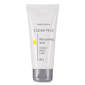 Clear Pele Micropeeling Facial Clareia Renova a Pele 60g