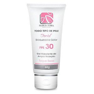 Protetor Solar Facial 60g FPS 30 Flor Da Terra