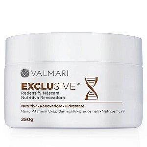 Máscara Nutritiva Renovadora Exclusive Redensify 250g Valmari