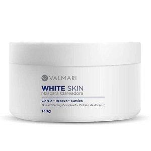 Máscara Clareadora White Skin 130g Valmari