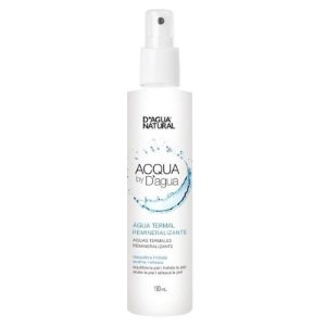 Água Termal Remineralizante - Acqua By D'agua Natural 190ml