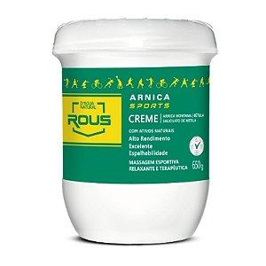 Arnica Sports D'agua Natural Creme de Massagem 650g