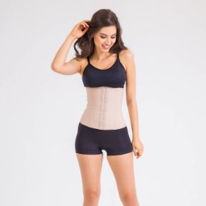 Cinta Modeladora Cotton Body Shaper Chocolate Esbelt