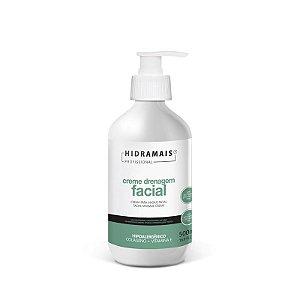 Creme Drenagem Facial Hipoalergênico 500ml Hidramais