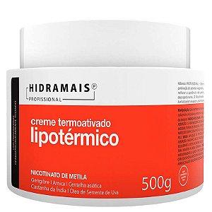 Creme Termoativado Lipotérmico Nicotinato de Metila Hidramais 500g
