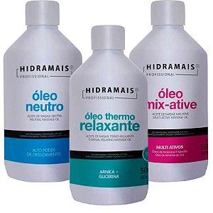 Óleos para Massagem Relaxante e drenagem Hidramais