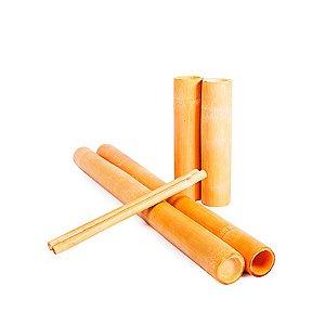Kit Bambu para Massagem Corporal e Facial Modeladora 6 itens