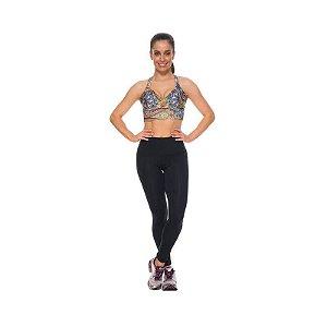 Calça Legging Modeladora Emana Preta Esbelt