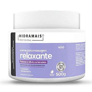 Creme para Massagem Relaxante 500g Hidramais