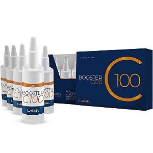 Booster C 100 5 Ampolas Vitamina C 100% Poder Ozônio Lakma