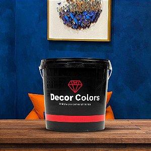 Cimento Queimado Rústico Azul petróleo 5 kg - Decor Colors