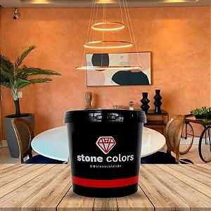 Cimento queimado tradicional Salmão 5 kg - Stone Colors