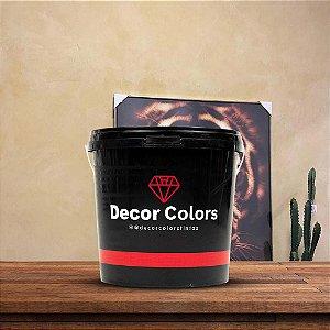 Cimento Queimado Rústico Linho Antigo 5 kg - Decor Colors