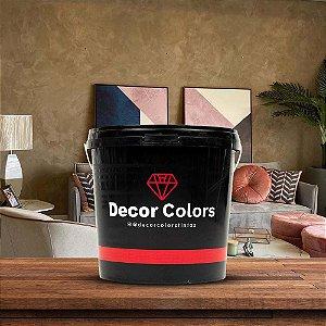 Cimento Queimado Rústico Avelã 5 kg - Decor Colors