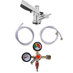 Kit de Extração - 1 via com manômetro